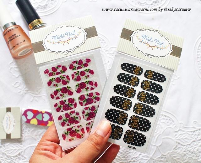 Nail Sticker Lucu dan Murah