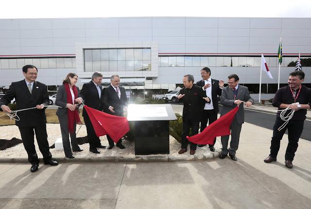 Toyota inaugura Centro de Pesquisa Aplicada no Brasil