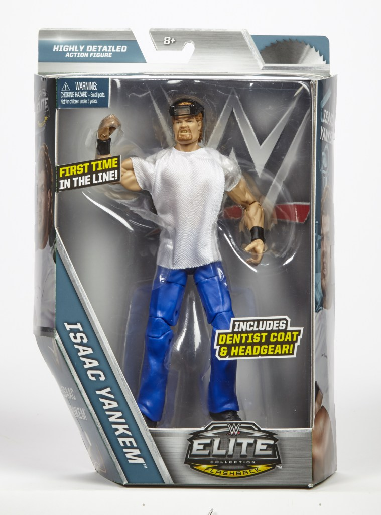 The Blot Says SDCC 2017 Exclusive WWE Isaac Yankem Elite Action