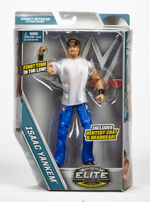 San Diego Comic-Con 2017 Exclusive WWE Isaac Yankem Elite Action Figure by Mattel x Toys R Us