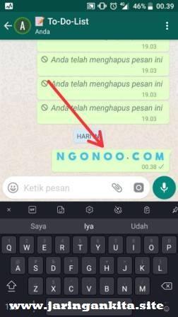 2 Cara Tarik Kembali Pesan di WhatsApp Yang Sudah Terkirim