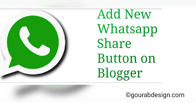 tips to add whatsapp share widget code in website