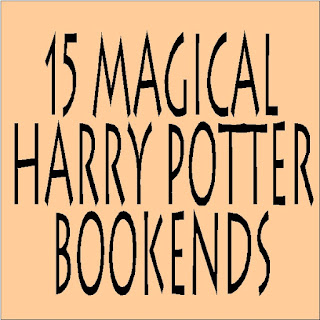 Who doesn't love the magic of Harry Potter? Corral your favorite books in fandom style with these fifteen Harry Potter Bookends perfect for your dream library.