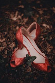 chaussures de mariee de couleur blog mariage www.unjourmonprinceviendra26.com