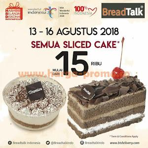 Promo BREAD TALK Terbaru Periode 13 - 16 Agustus 2018