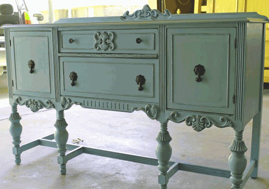 Mod Vintage Life Jacobean Buffets Or Sideboards