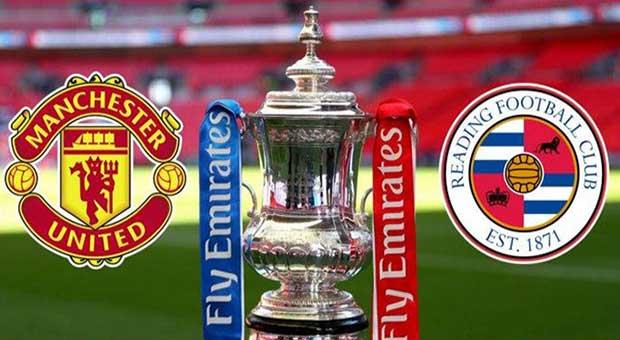 Piala FA, Manchester United Siap Hancurkan Perlawanan Reading