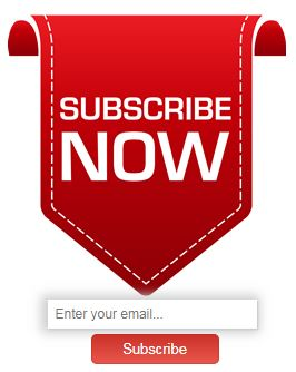 Email Subscription widget style 4