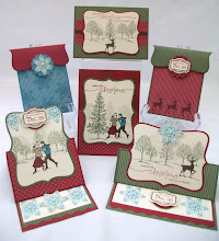 Winter Post Stamp Class Instructions