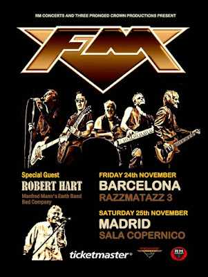 FM - Robert Hart - Barcelona - Madrid - Spain - Nov 2017 - poster