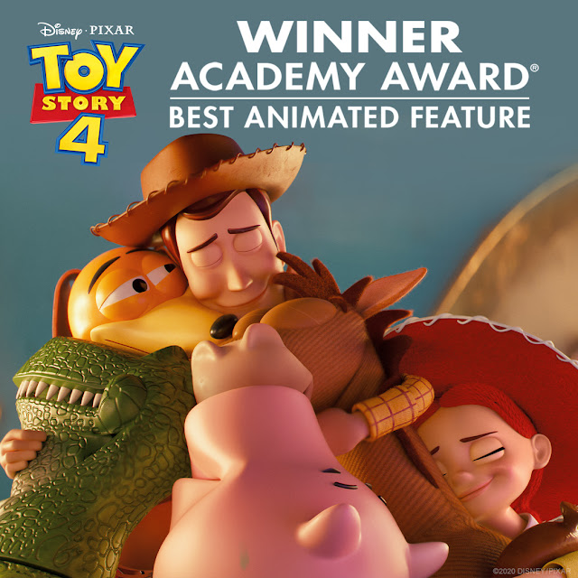 Toy Story 4 wins Best Animated Feature Film Oscars