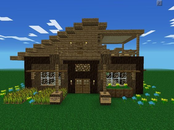 Cool things to build in minecraft xbox 360 xbox one for Modern house xbox minecraft