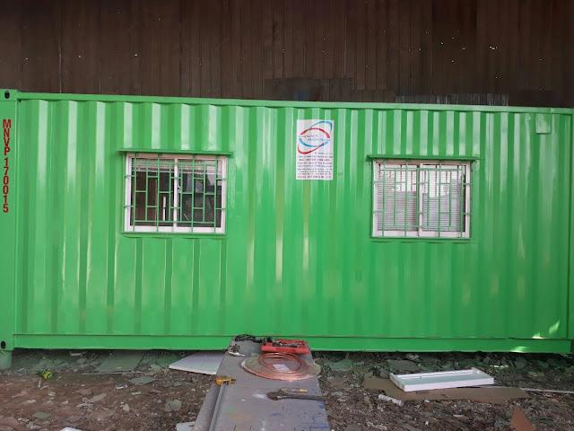 Thanh Lý Container Văn Phòng Cũ Đã Qua Sử Dụng