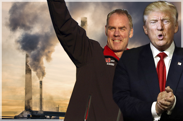 DownWithTyranny!: Will Ryan Zinke Be The First Trump Cabinet ...