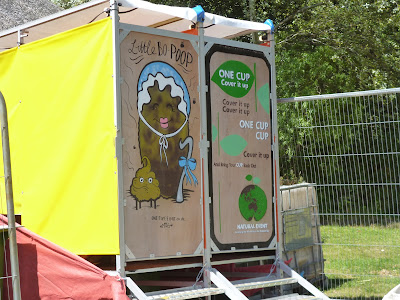 festival compost toilet loos