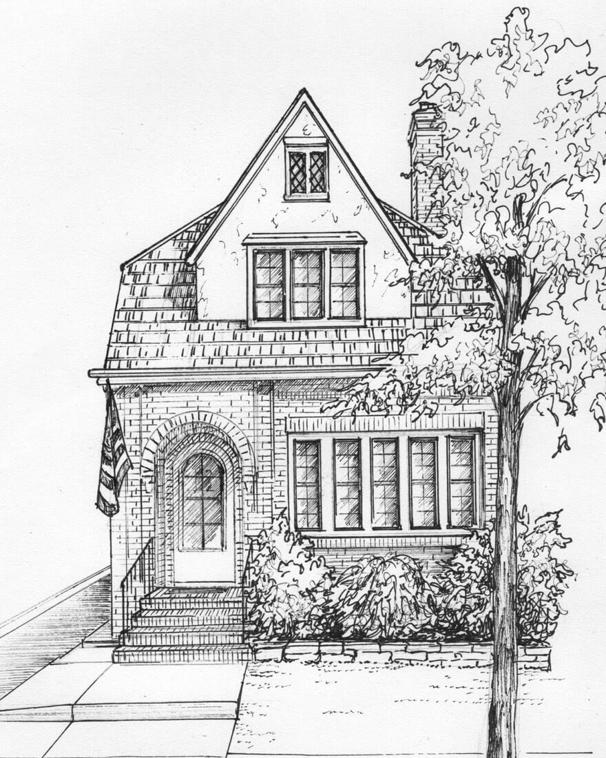 04-House-Drawn-in-Ink-Mary-Frances-Smith-Architecture-Expressed-in-House-Drawings-www-designstack-co