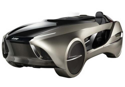 Tinuku Mitsubishi Electric unveils EMIRAI 4 concept car