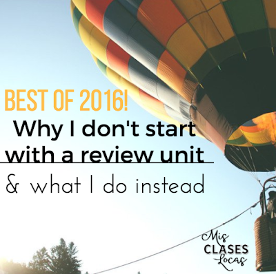 Best of 2016: #3 Why I Don't Start School With a Review Unit
