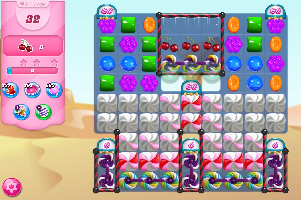 Candy Crush Saga level 7769