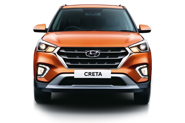 New 2018 Hyundai Creta Facelift fornt view