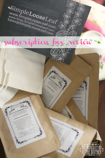 Simple Loose Leaf Subscription Tea Box Review