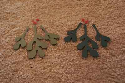 DIY Mistletoe Decor / Easy Christmas decorations & free printable