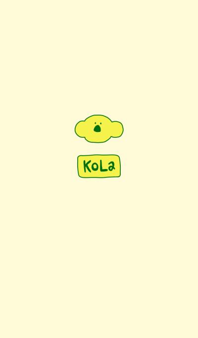KOLA Yellow X Green 11