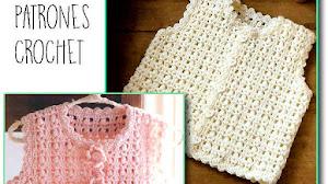 Chaleco Infantil al Crochet / Patrones
