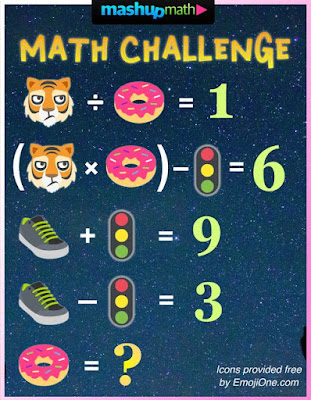 Mashup Math Twitter Challenge of the Week