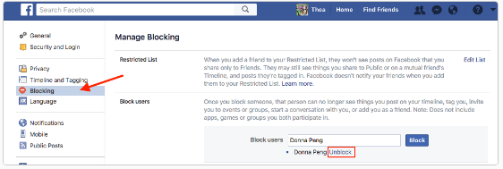 How to Unblock Someone on Facebook App for iPhone