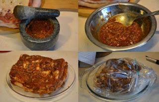 boczek pieczony na ostro