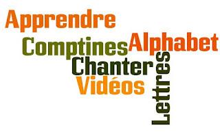 Alfabet - nagłówek - Francuski przy kawie