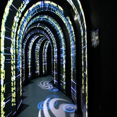 Màn hình led sử dụng cho quán beer club
