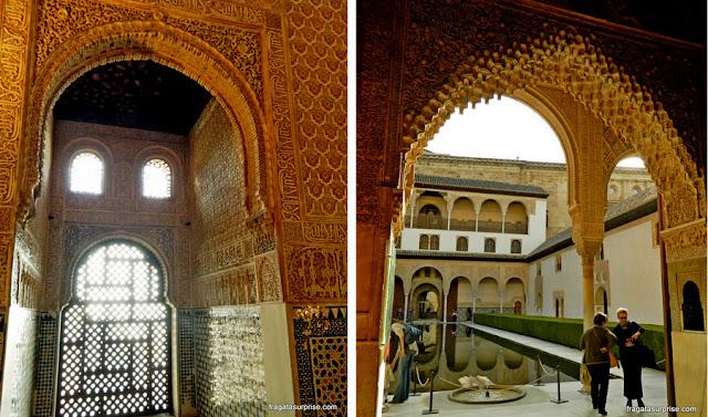 Alhambra, Granada, Palácio de Comares