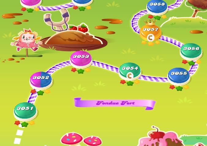 Candy Crush Saga level 3051-3065