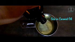 add coconut oil