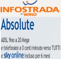 Tariffa Absolute ADSL di Infostrada: prezzo e condizioni