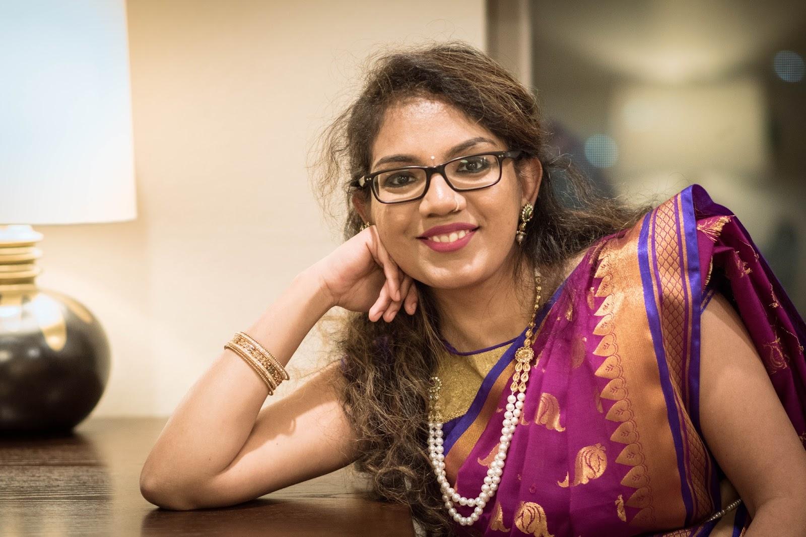 Kanchipuram Sarees_Jewellers Lane_AimforGlam_Cancan Saree Drape