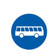 Специальные полосы для движения автобусов
