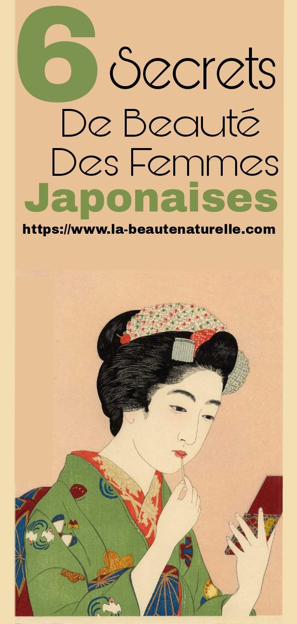 6 Secrets De Beauté Des Femmes Japonaises