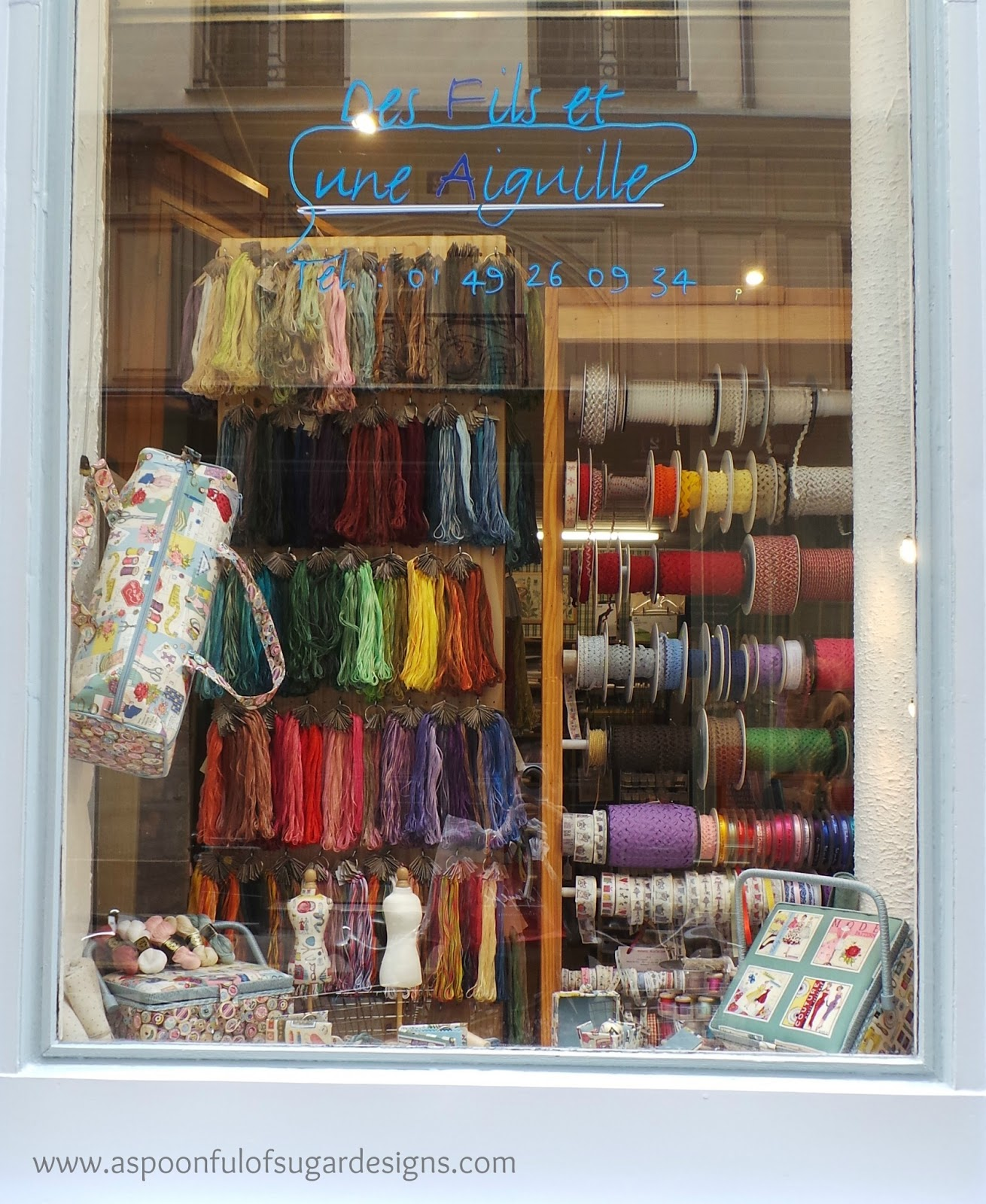 Craft Stores in Paris - A Spoonful of Sugar