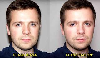 Teknik Flash Foto menggunakan Balon untuk hasil Natural