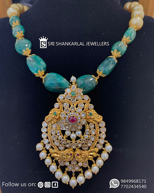 Pachi Pendant by Shankarlal Jewellers