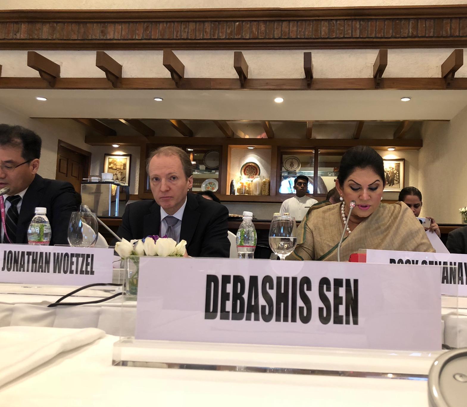 Urban Journal: Roundtable Meeting of AIIB (Asian
