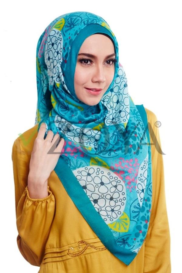 Koleksi Jilbab Zoya Terbaru Segi Empat 2017 | 1000+ Jilbab