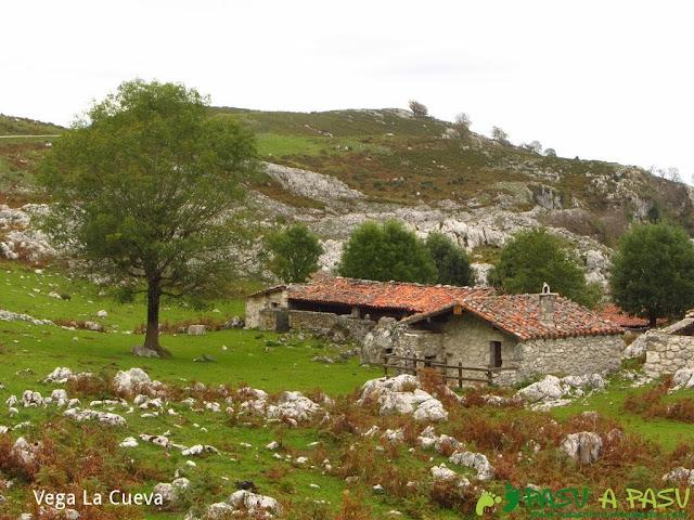 Vega la Cueva en la zona de Lagos de Covadonga