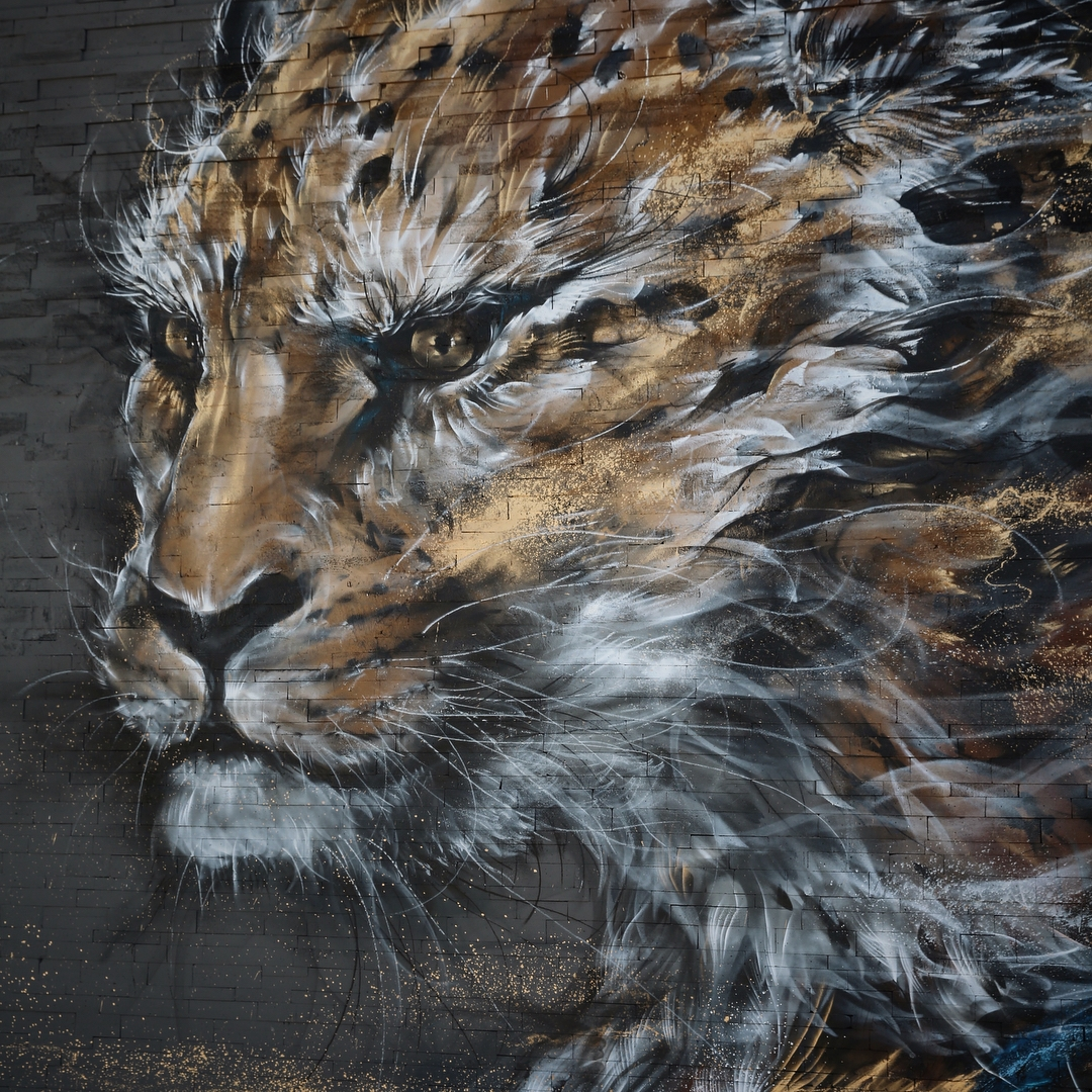 02-Cheetah-Detail-Hua-Tunan-Animal-Sketch-Drawings-and-Mural-Paintings-www-designstack-co