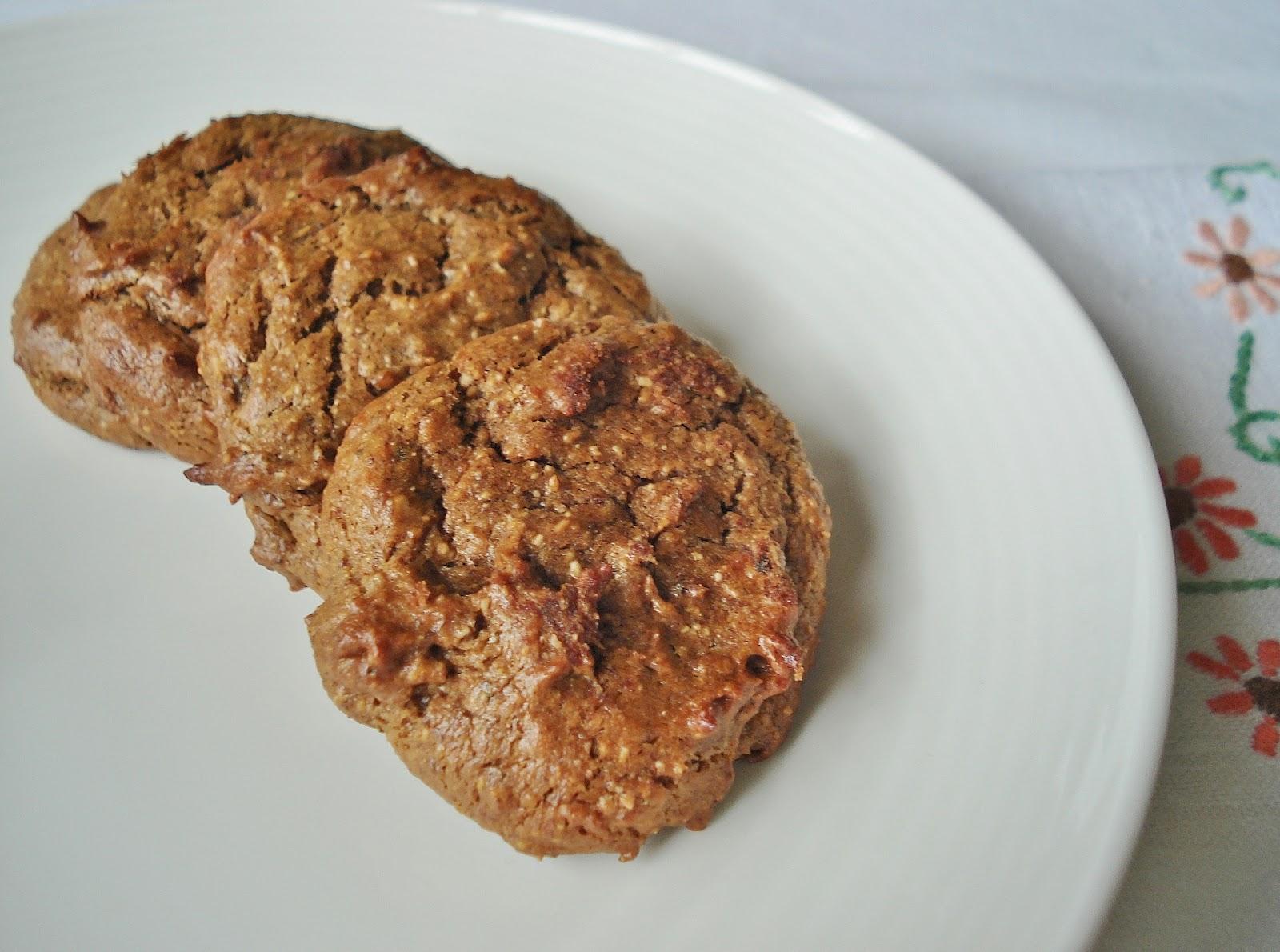Grain Free Banana & Almond Butter Cookies SCD GF DF | Gluten Free SCD ...