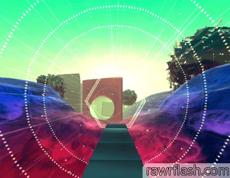 Glitch Dash é um runner em 3D com obstáculos diferentes e com a câmera em primeira pessoa, dando uma imersão extra para o jogo.