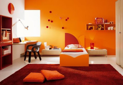 แบบบ้านสีส้ม